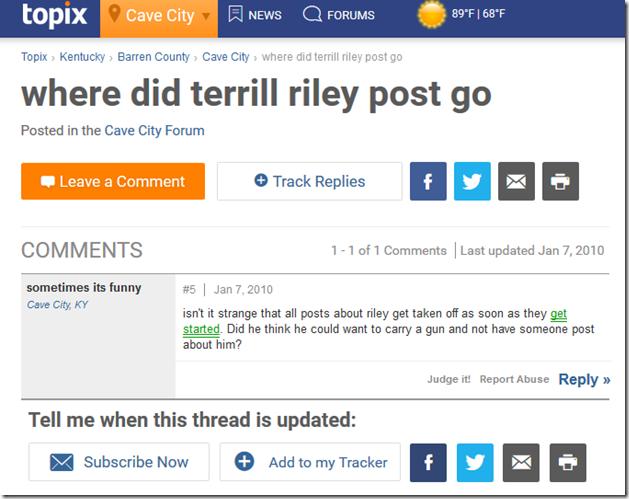 wheres terrill